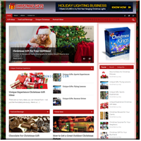 Christmas Gifts Website